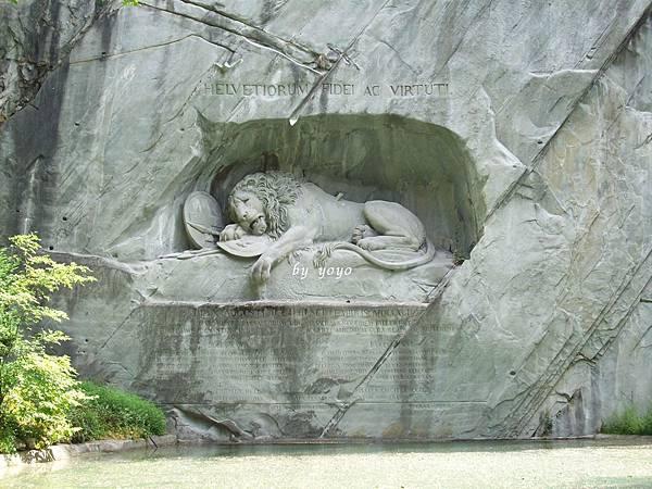 瑞士悲壯獅子紀念碑 224.jpg