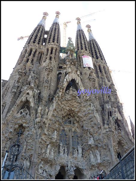 西班牙 巴塞隆納 聖家堂 Sagrada Familia, Barcelona, Spain