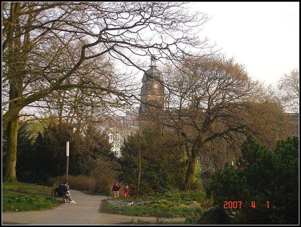 公園的一角