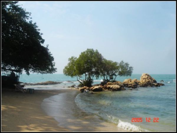 安靜的沙灘