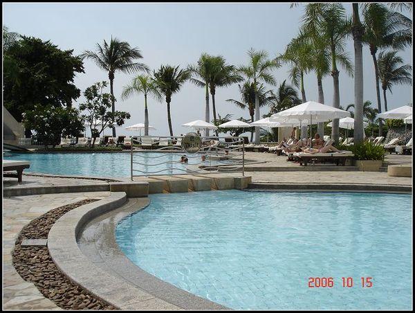 旅館游泳池