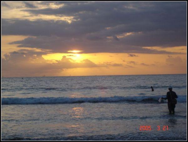 巴里島的黃昏