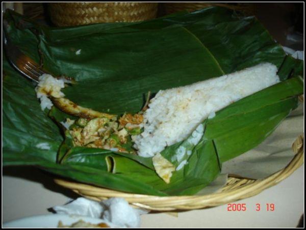 香蕉葉包飯