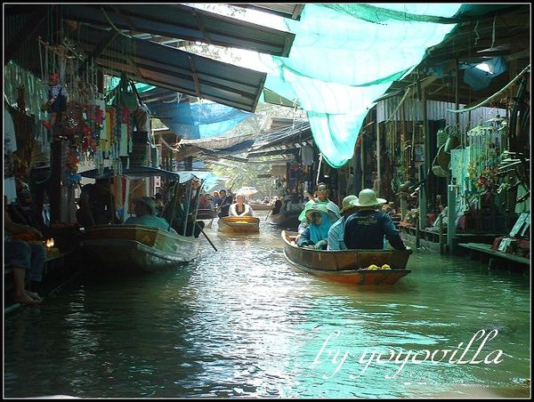 Bangkok 曼谷水上市場