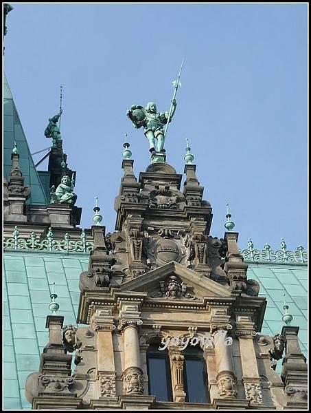 德國 漢堡 市政廳 Rathaus, Hamburg, Germany