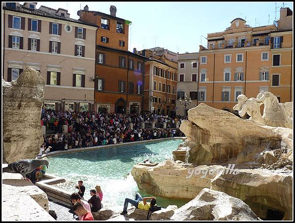 意大利 羅馬 特萊維噴泉 Fontana di Trevi, Rome, Italy