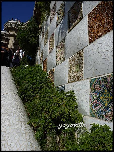 西班牙 巴塞隆納 高第 奎爾公園 Parc Güell, Barcelona, Spain