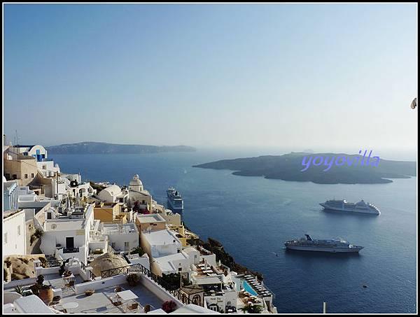希臘 聖托里尼島 費拉 Fira, Santorini, Greece