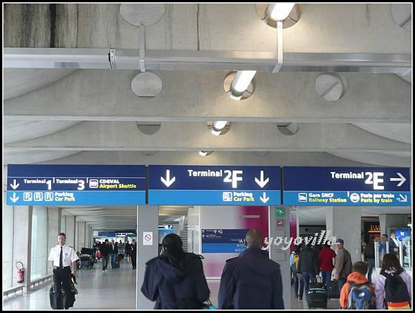 法國 巴黎 戴高樂飛機場 Airport, Paris, France