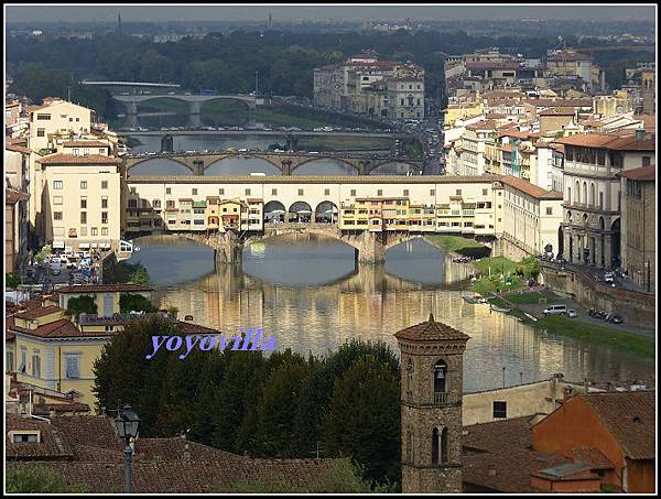 意大利 佛羅倫斯 米開朗基羅廣場 Piazzale Michelangelo, Florence, Italy