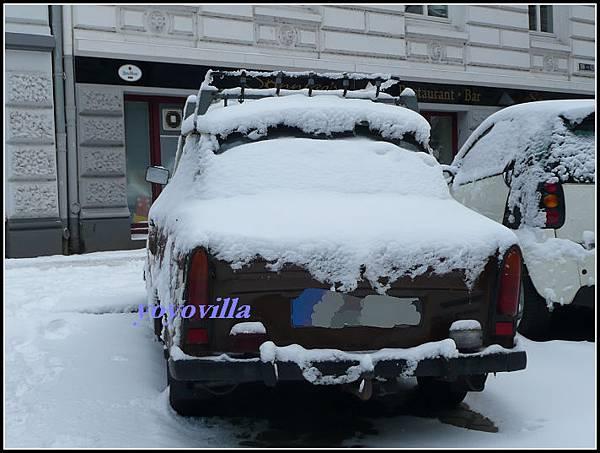 德國 漢堡 冬天雪景  Hamburg, Geramny