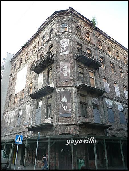波蘭 華沙 猶太區 Plac Grzybowski , Warsaw, Poland