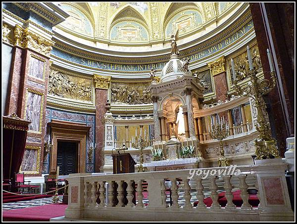 匈牙利 布達佩斯 聖伊什特萬聖殿 Szent István-bazilika, Budapest, Hungary