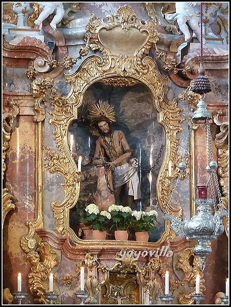 德國 維斯朝聖教堂 Wieskirche, Germany