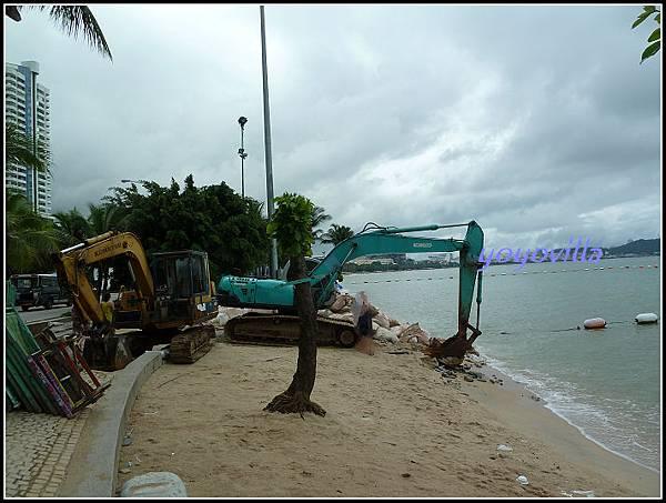 泰國 芭達雅 大雨洪水之後 Pattaya, Thailand