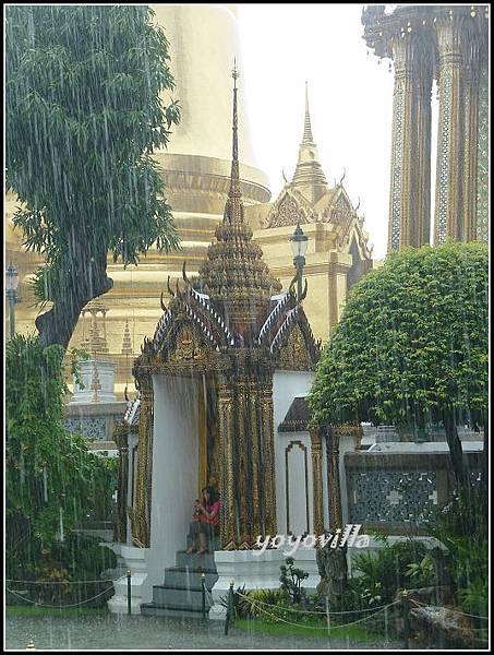 泰國 曼谷 大皇宮 雨中即景 Grand Palace, Bangkok, Thailand