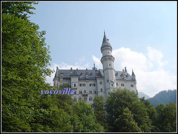 德國 新天鵝湖堡 Neuschwanstein, Germany