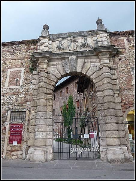 意大利 維察琴 奧林匹克劇場 Teatro Olimpico, Vicenza, Italy