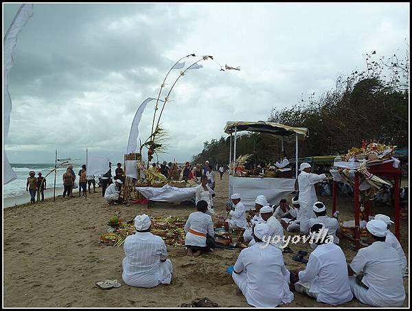 巴釐島 海邊祭典 Bali