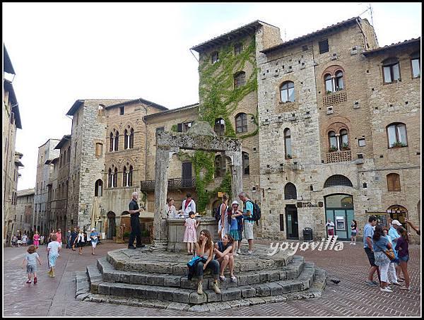 意大利 聖吉米尼亞諾 San Gimignano, Italy