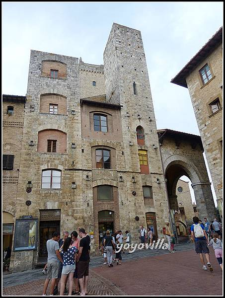 意大利 聖吉米尼亞諾 教堂 San Gimignano, Italy