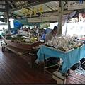 曼谷 周末水上市場  Talingchan Pier, Bangkok