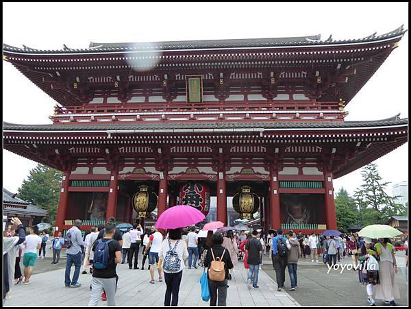 日本 東京 上野 淺草寺 Japan