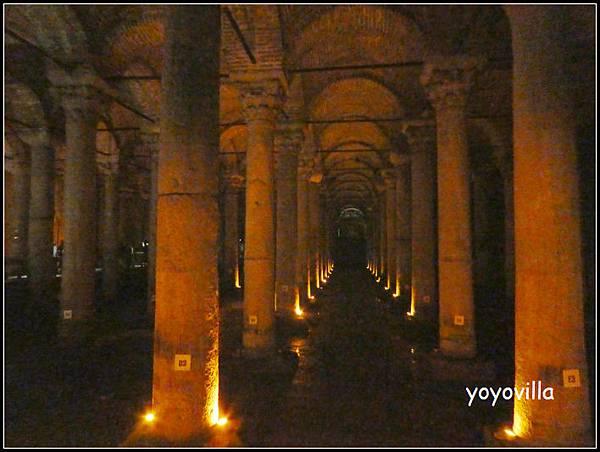 土耳其 伊斯坦堡水上宮殿 Yerebatan Palace, Istanbul