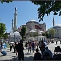 土耳其 伊斯坦堡 蘇菲亞大教堂 Hagia Sophia, Istanbul, Turkey