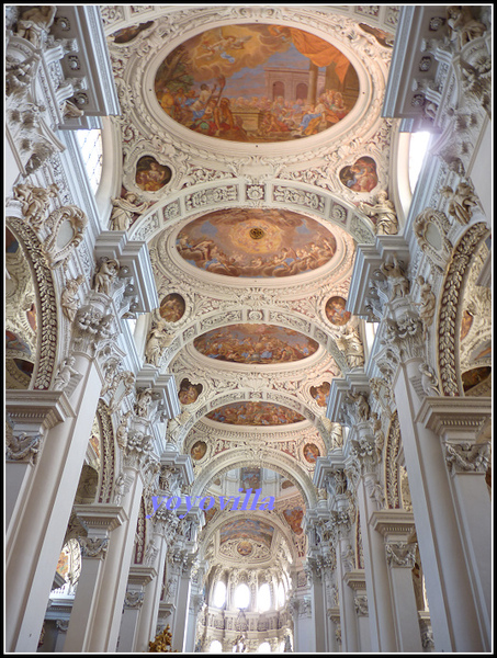 德國 帕紹 大教堂 Dom St. Stephan, Passau, Germany