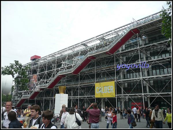 Pompidou, Paris, France 法國 巴黎 龐畢度