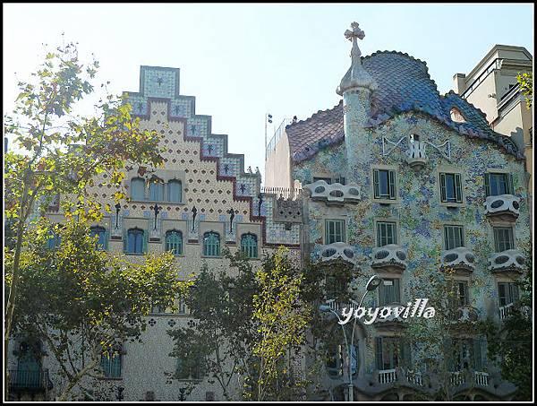 西班牙 巴塞隆納 高第 巴特略住宅 Casa Batlló, Barcelona, Spain
