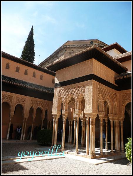 Alhambra, Granada 西班牙阿罕布拉宮