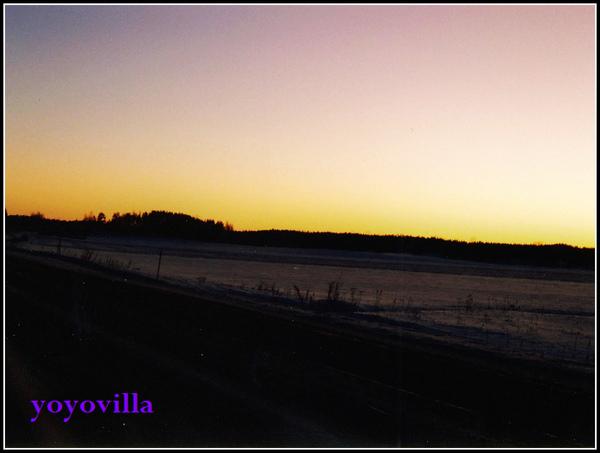 Finland 芬蘭的冬天