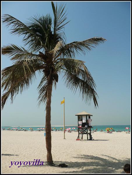 Jumeirah Beach, Dubai  杜拜的海水浴場