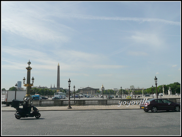 法國巴黎 協合廣場 Place de la Concorde, Paris, France