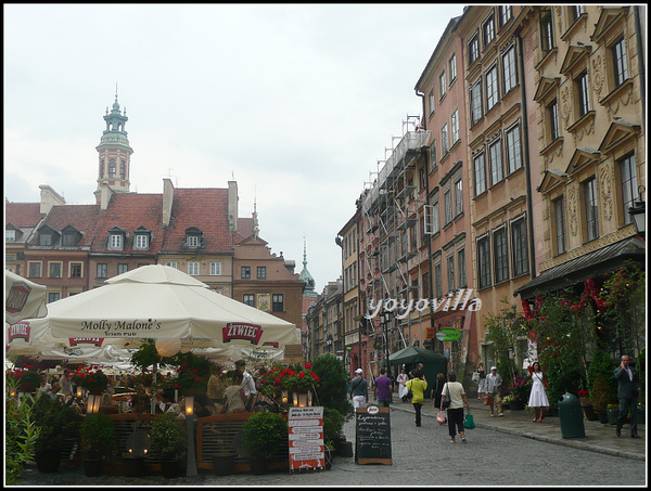 波蘭華沙 老城廣場 Old town spuare, Warsaw, Poland