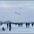 德國 漢堡 結冰的阿爾斯特湖 Alster Lake in Winter, Hamburg, Germany