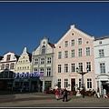 德國 唯斯瑪 市區和教堂 Wismar, Germany