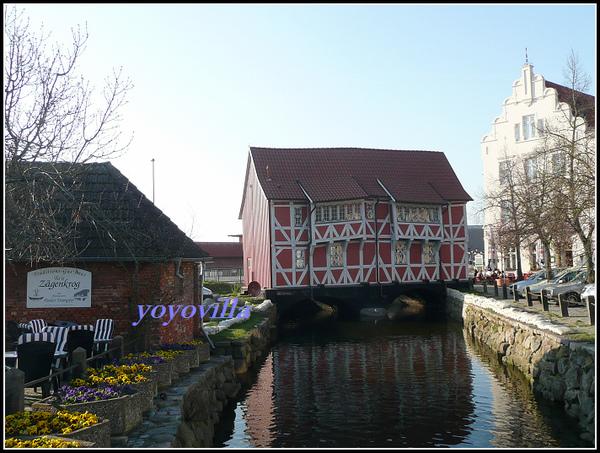 德國 維斯瑪 港口和郊區 Wismar, Germany