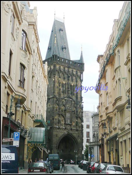 捷克 布拉格 火藥塔 Prasna brana, Prag, Czech