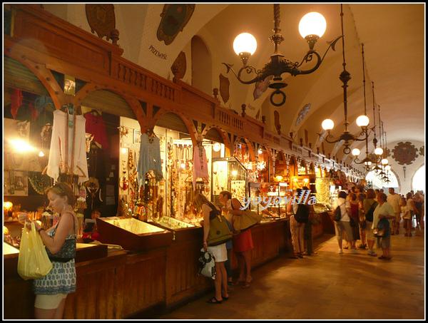 波蘭 克拉科夫 市區廣場 Hauptmarkt, Krakow, Poland