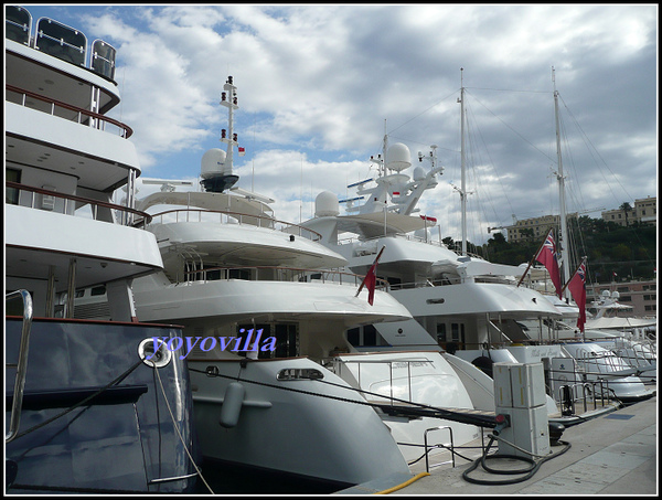 摩納哥 有錢人的遊艇 Monaco