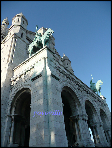法國 巴黎 聖心教堂 Basillque du Sacre-Coeur, Paris, France