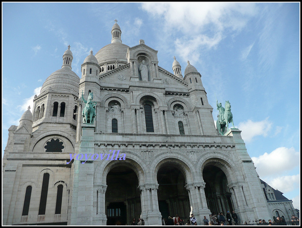 法國 巴黎 聖心教堂 Basillque du Sacre-Coeur, Paris, France
