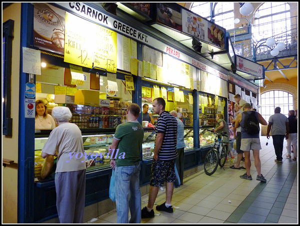 匈牙利 布達佩斯 大室內市場 kozponti Vasarcsarnok, Budapest, Hungry