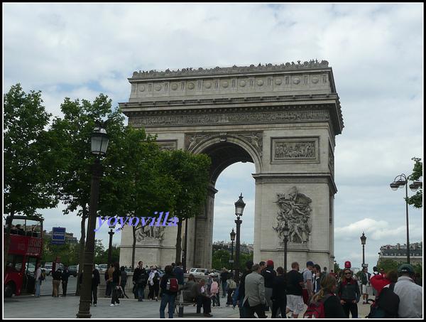 法國 巴黎 凱旋門 Arc de Triomphe, Paris, France