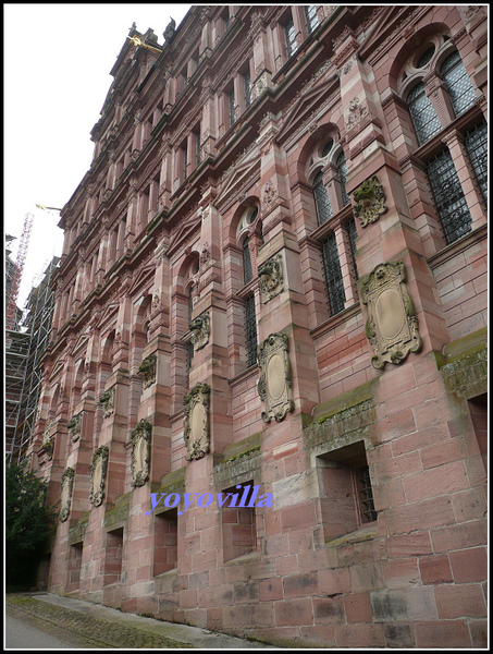 德國 海德堡 海德堡城堡 Heidelberger Schloss, Heidelberg, Germany
