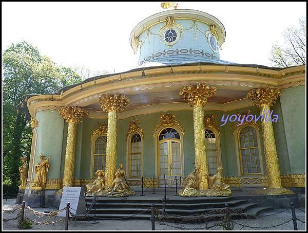 德國  波茨坦 無憂宮 中國茶亭 Chinesisches Teehaus, Sanssouci, Potsdam, Germany
