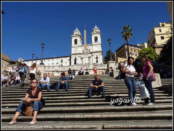 意大利 羅馬 西班牙廣場 Piazza de Spagna Rome, Italy